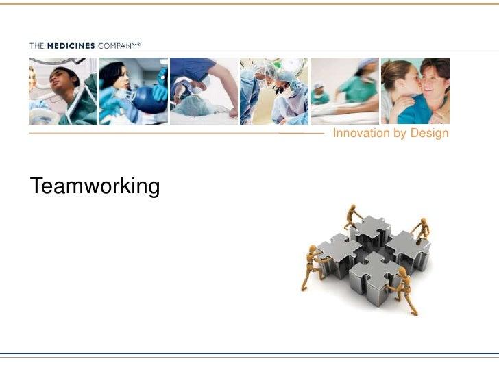 Teamworking<br />