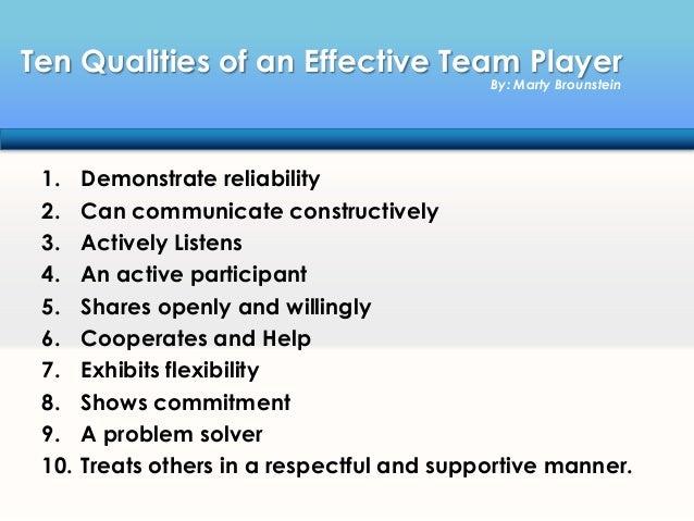 Teamwork gets it done 4
