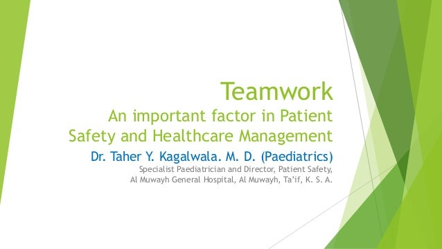 leadership and teamwork in nursing Leadership, management and team working in  transforming nursing practice is a series tailor  essays concerned with leadership.