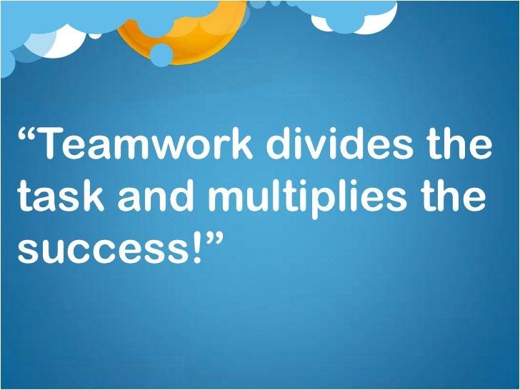 Teamwork & Leadership