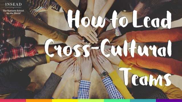 How to Lead Cross-Cultural Teams