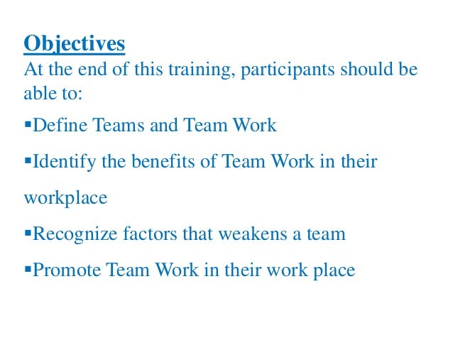 how to work well n a team