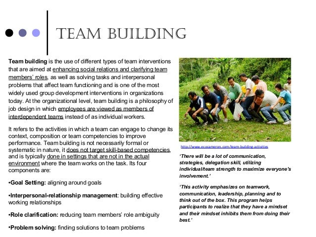 relevance of team The importance of teamwork in business seems apparent enough to the casual observer when coworkers engage in tasks cooperatively, it stands to reason they would be more productive  in a.