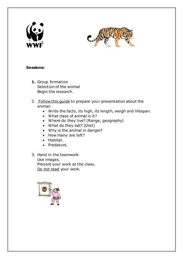 write about endangered animals