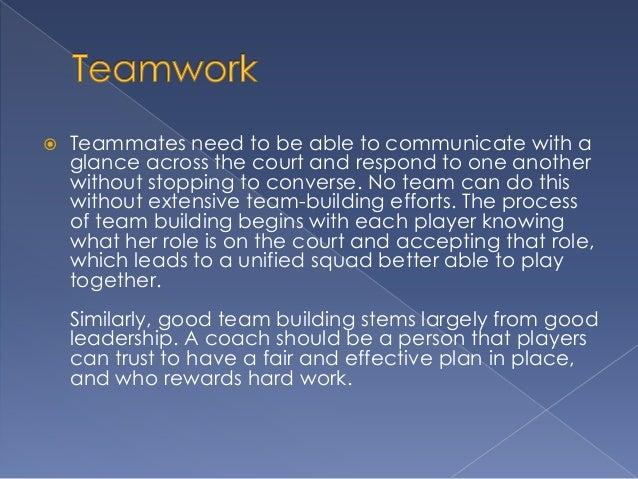 Teamwork and the Basketball Coach Slide 3