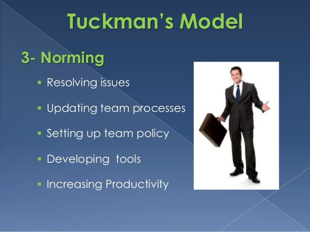 tuckman teamwork survey Bruce tuckman reviewed about fifty studies of group development (including bales' model) in the mid-sixties and synthesized their commonalities in one of the most frequently cited models of group development (tuckman, 1965) tuckman's model of group development describes four linear stages (forming, storming,.