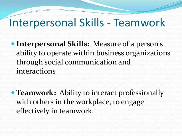 what does interpersonal skills mean - Gecce.tackletarts.co