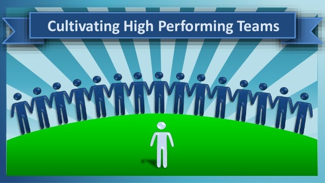 Cultivating High Performing Teams