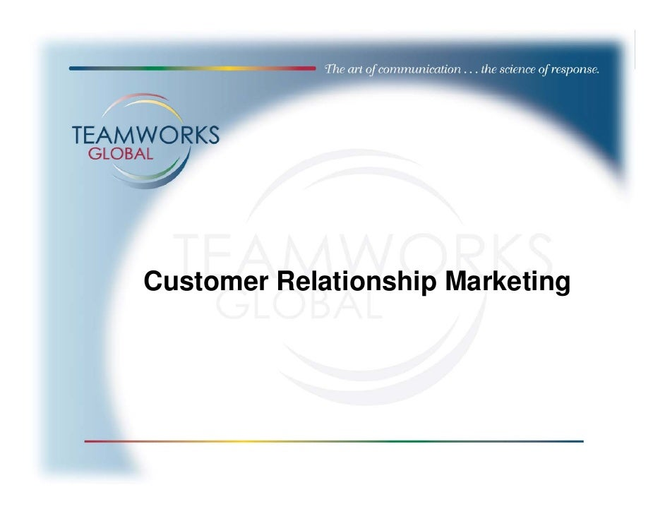 customer relationship channels in marketing Multichannel marketing represents a convergence of channel marketing on these channels in order to develop their customer relationship.