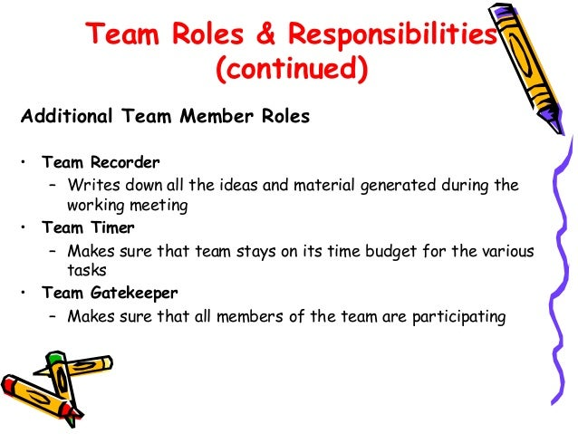 Team workshop - Back office roles and responsibilities ...