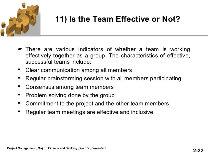 Team work slide