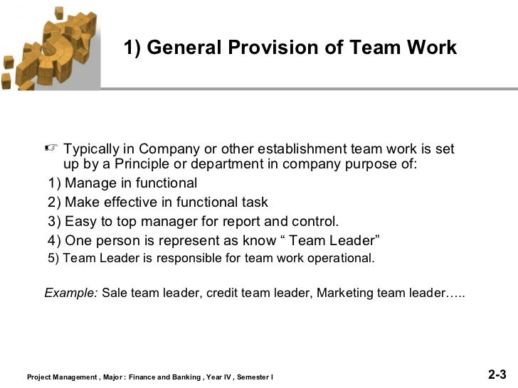 Team work slide Slide 3