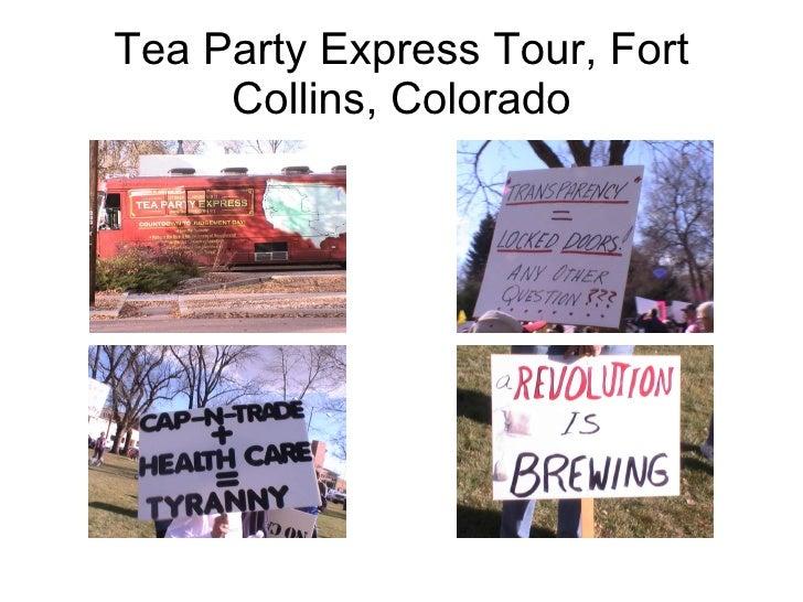 Tea Party Express Tour, Fort Collins, Colorado