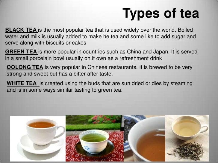 Tea Presentation 1