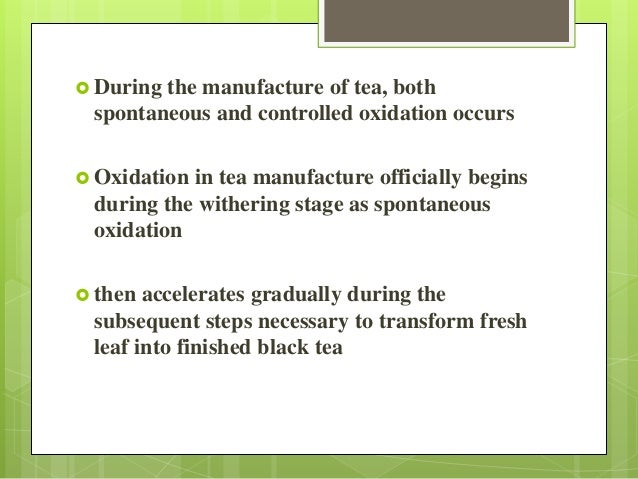 Fixation / Kill-green  is done to stop the tea leaf oxidation at a desired level.  This process is accomplished by moder...