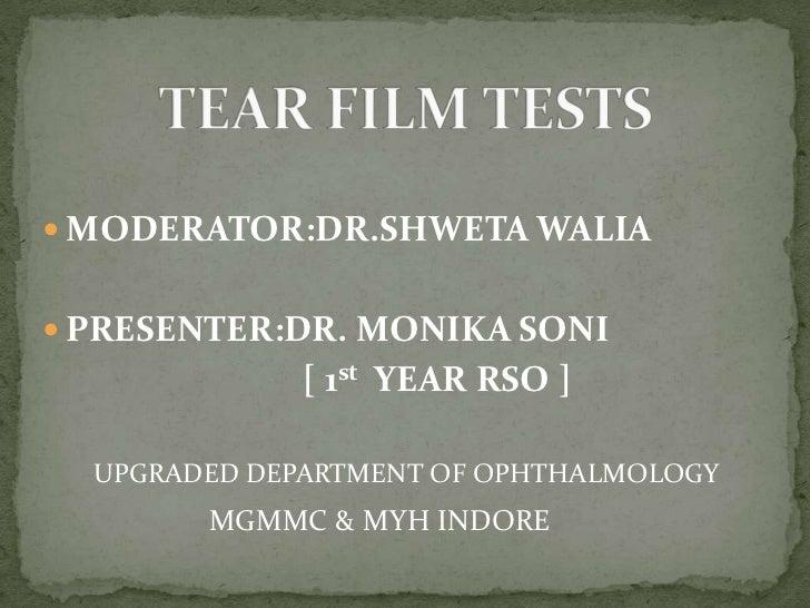  MODERATOR:DR.SHWETA WALIA PRESENTER:DR. MONIKA SONI              [ 1st YEAR RSO ]  UPGRADED DEPARTMENT OF OPHTHALMOLOGY...