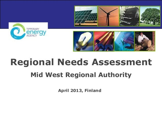 Regional Needs Assessment Mid West Regional Authority April 2013, Finland