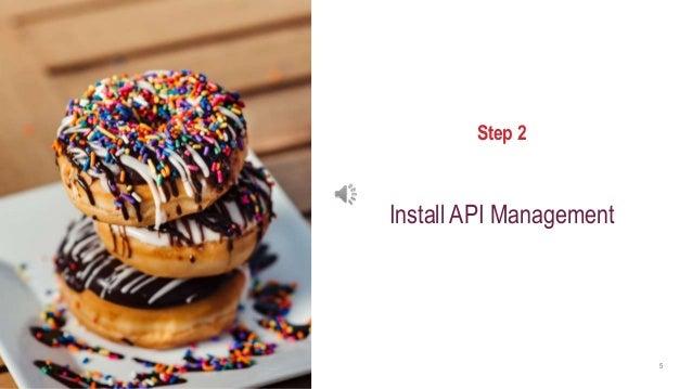 axway.com 5 Step 2 Install API Management
