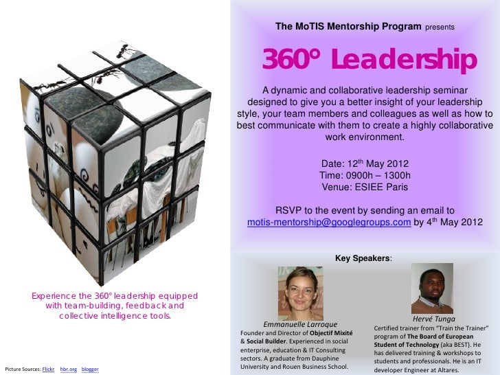 The MoTIS Mentorship Program                    presents                                                             360° ...