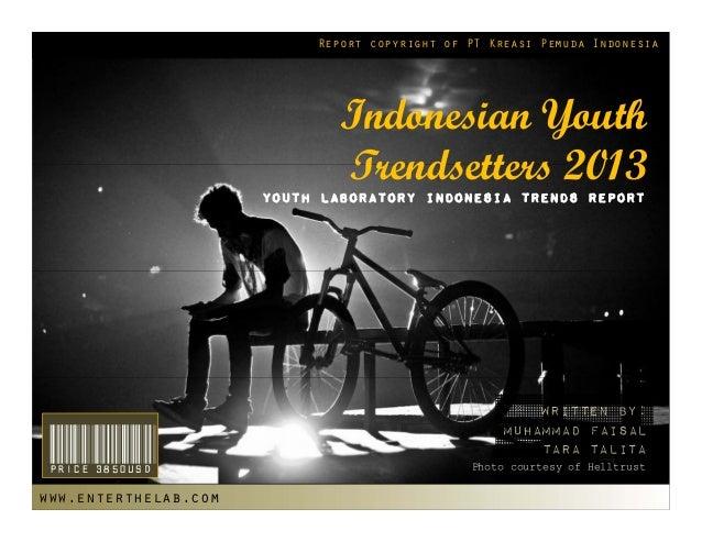 Report copyright of PT Kreasi Pemuda Indonesia                              Indonesian Youth                              ...
