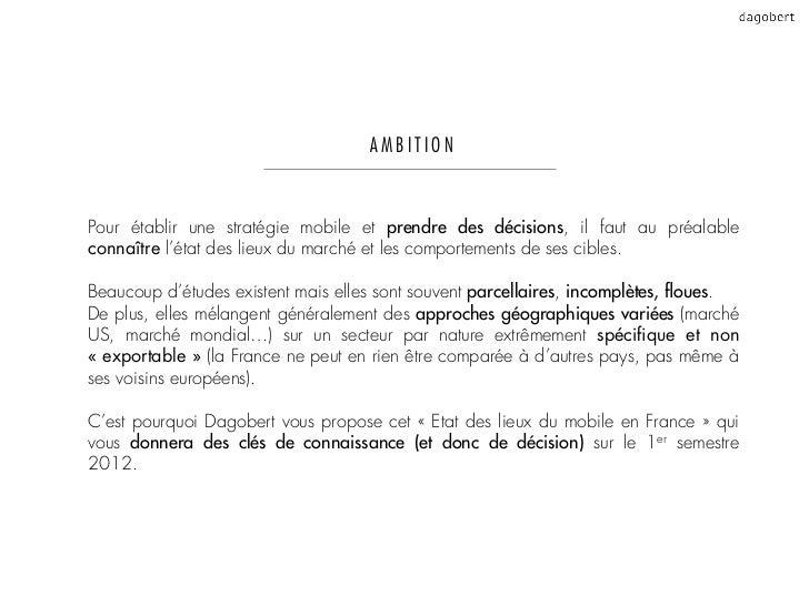 Etat des lieux du mobile en France - Mai 2012 Slide 2