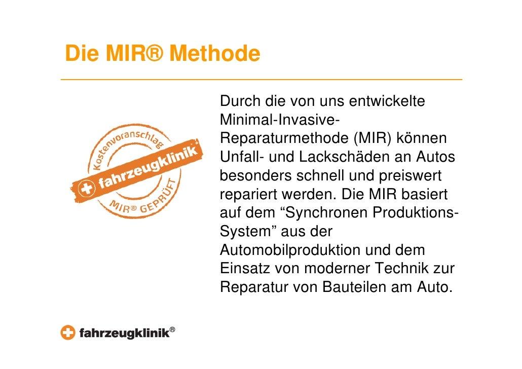 Einblick Ausstattung Fahrzeugklinik Slide 3