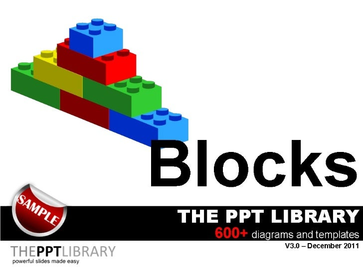 the ppt library lego blocks. Black Bedroom Furniture Sets. Home Design Ideas