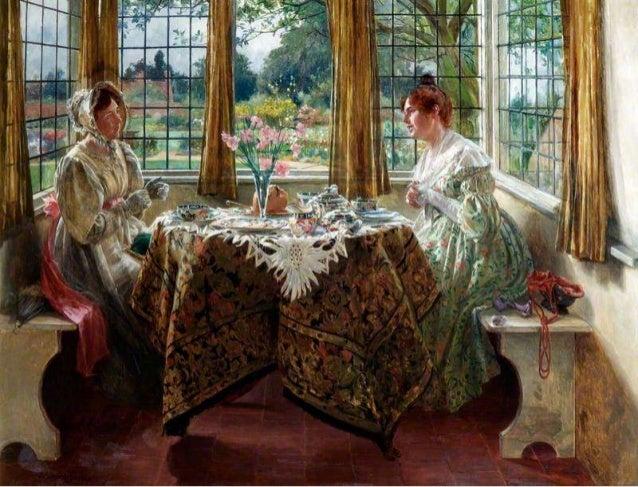 Tea Time, Paintings