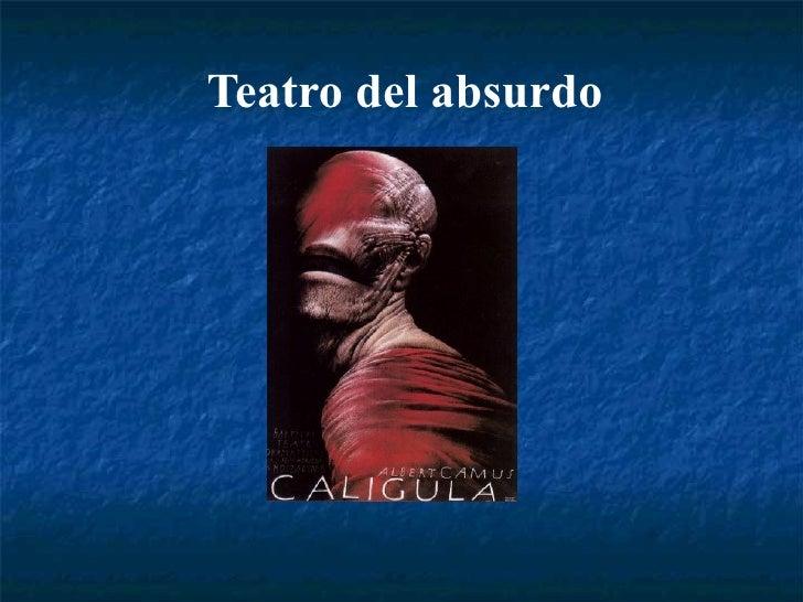 Teatro del absurdo