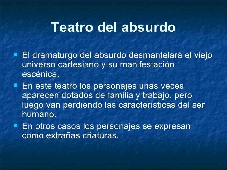 Teatro del Absurdo Slide 3