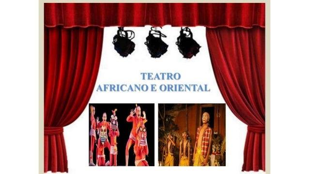 Teatro africano e oriental