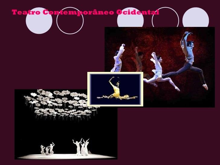 Teatro contemporâneo Slide 2