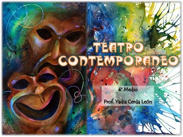 4° Medio Prof. Yadia Cerda León