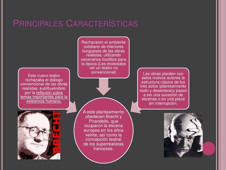 Teatro contemporaneo y semejantes for Caracteristicas del contemporaneo