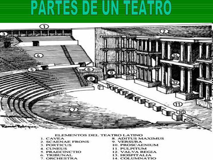 Teatro griego for Partes de un vivero forestal