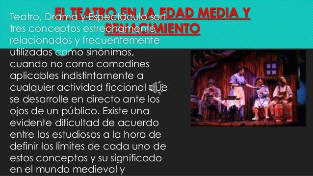 EL TEATRO Slide 2