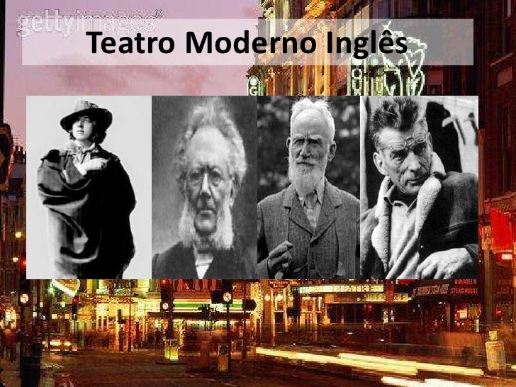 Teatro Moderno Inglês