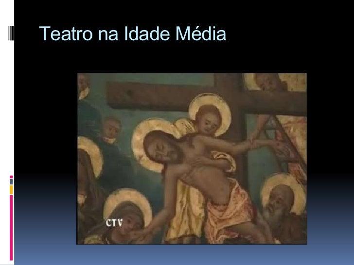 Teatro na Idade Média