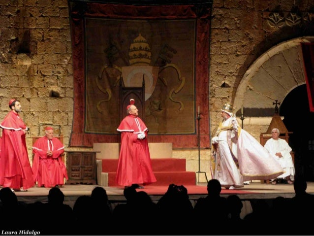 Teatro papa luna peniscola 2013