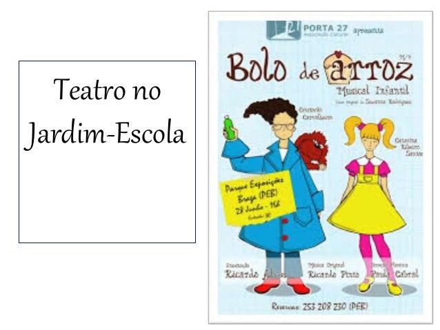 Teatro no Jardim-Escola
