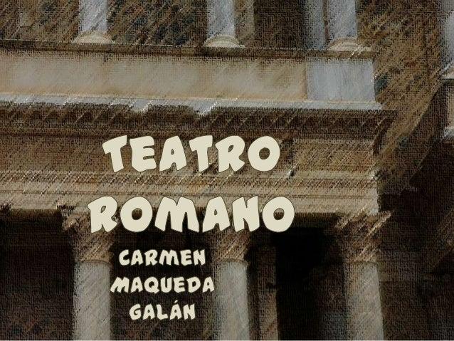 Comedia  * Fabula togata  * Fabula palliata / De ambiente griego, inspirada en la Comedia Nueva. / Los actores vestían un...