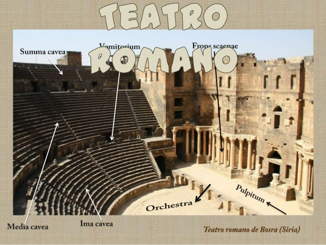 Teatro romano Slide 2