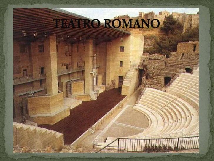 TEATRO ROMANO<br />