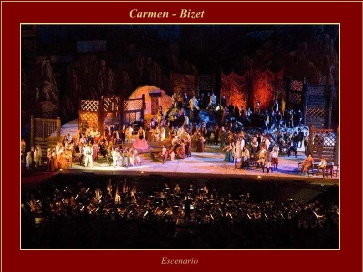 Carmen - Bizet   Escenario