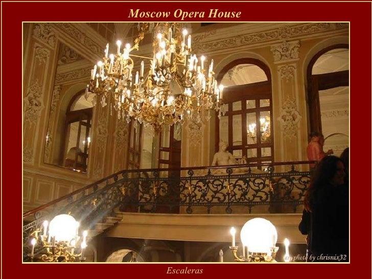 Moscow Opera House   Escaleras