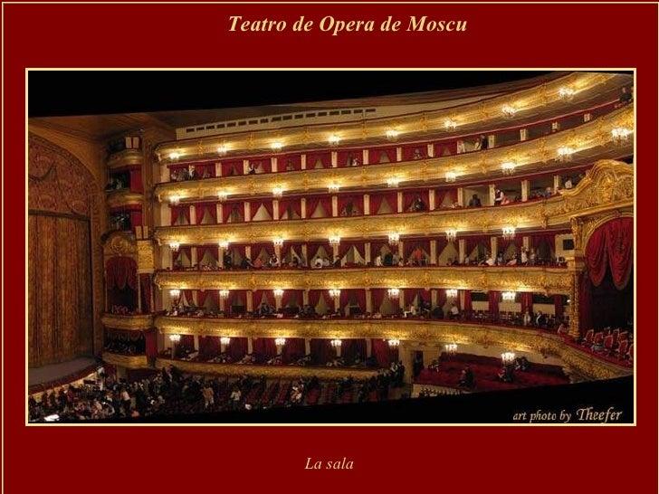 Teatro de Opera de Moscu   La sala