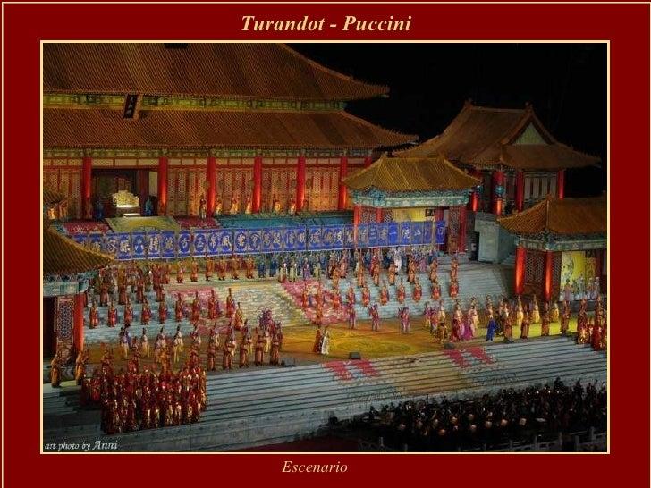 Turandot - Puccini Escenario