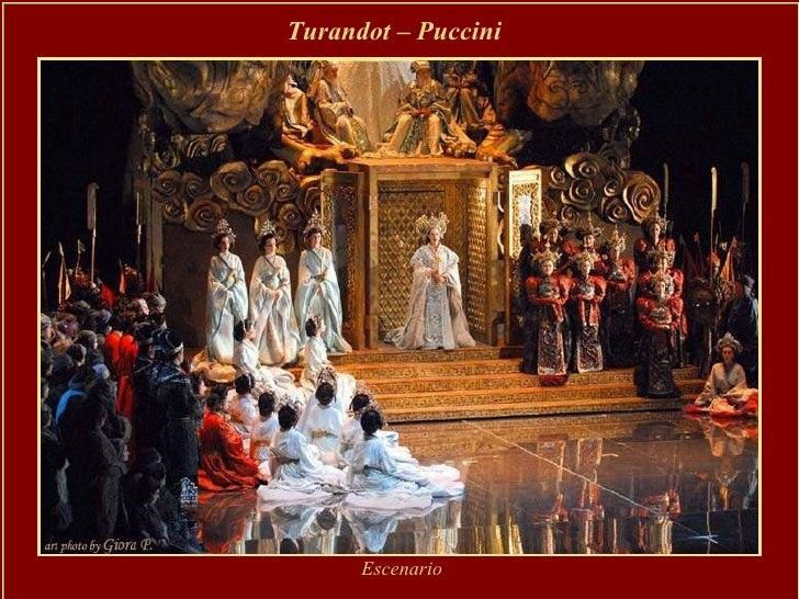 Turandot – Puccini   Escenario