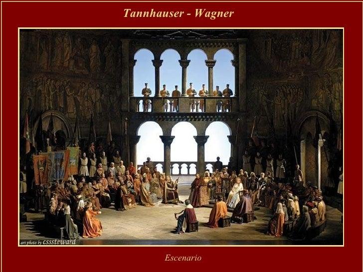 Tannhauser - Wagner   Escenario