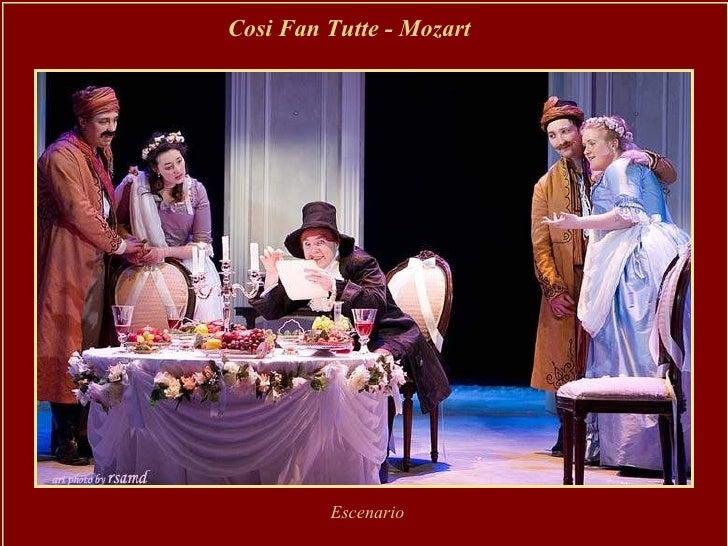 Cosi Fan Tutte - Mozart Escenario